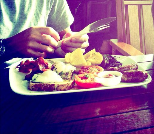 Koke pub and cafe: Big breakfast!