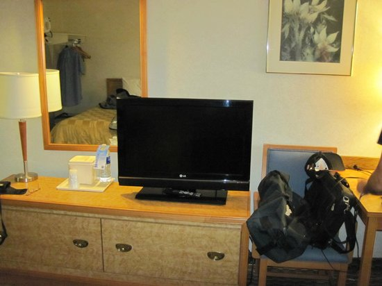 Comfort Inn West: flat screen
