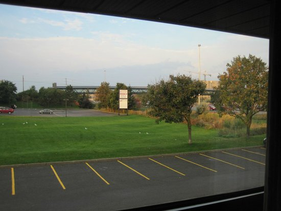 Comfort Inn West : view from room