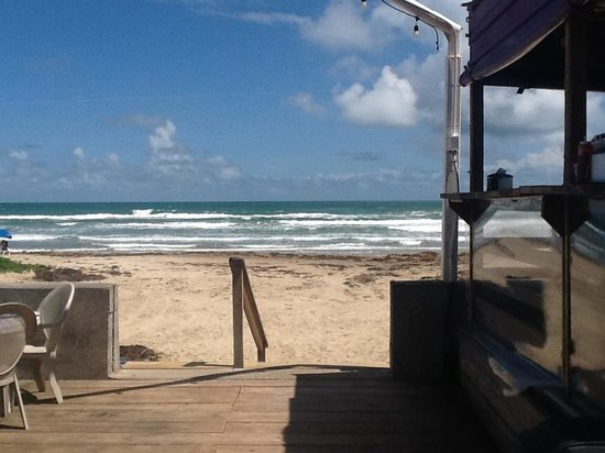 Wanna-Wanna Beach Bar & Grill: Steps to/from the beach!