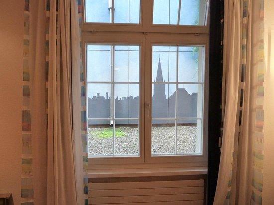 Hotel Bristol: window view
