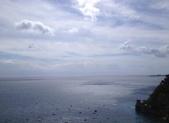 Albergo Punta Regina: View from our balcony