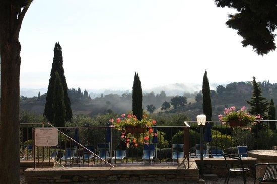 Il Casale del Cotone : Morning view from the patio