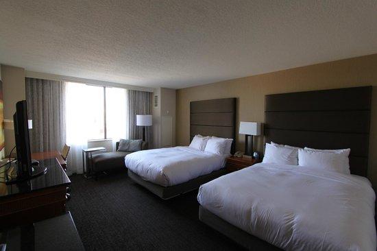Hilton Salt Lake City Center : 2 queen beds room
