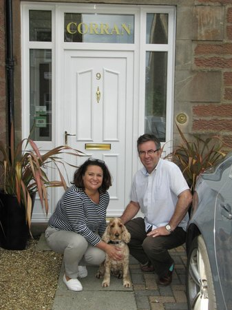 Corran Guest House: Caroline, John, & Monty