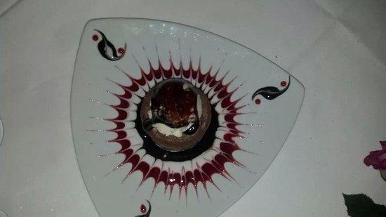 Tavolino Della Nonna: Chocolate Volcano Cake