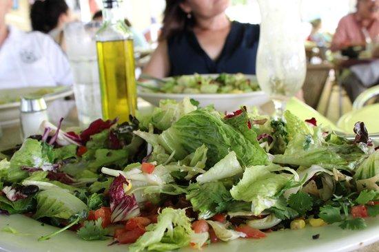 Nexxt Cafe : A salada é pra 5 pessoas.