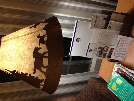 BEST WESTERN PLUS Frontier Motel : Lampe