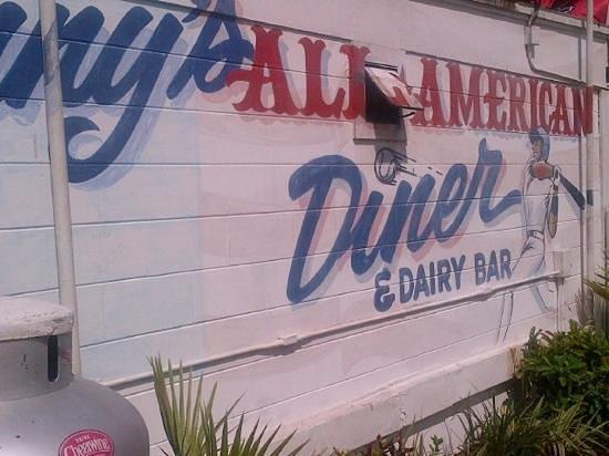 Danny's All American Diner: baseball themed