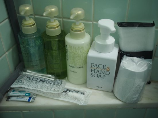 Kinuya Hotel: Toiletries - Shiseido