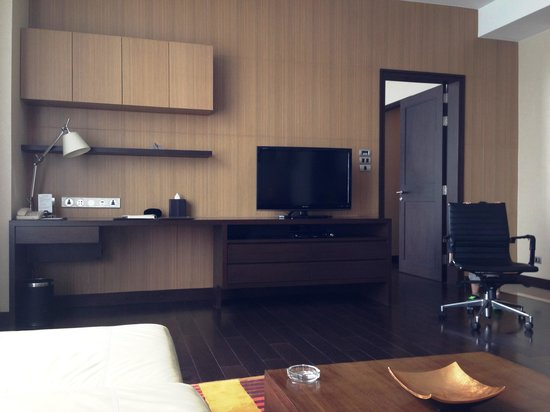 Sukhumvit Park, Bangkok - Marriott Executive Apartments: Living room