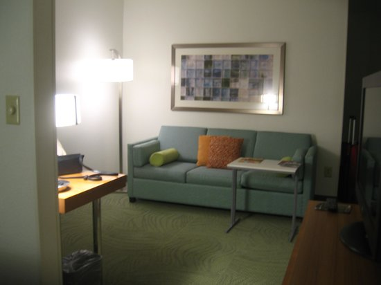 SpringHill Suites Newark Liberty International Airport: Nice setting area