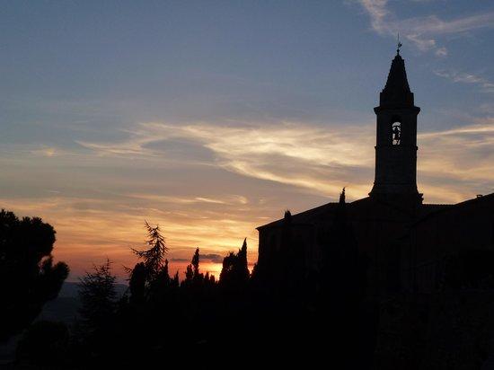 La Bandita Townhouse: Pienza sunset