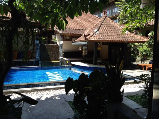 Legian Village Hotel : View from room 402