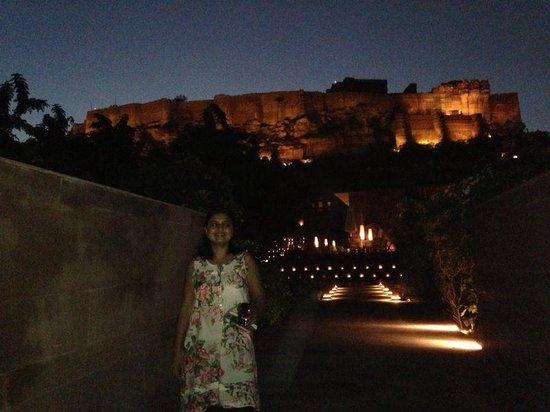 Darikhana at RAAS Jodhpur : Night time view