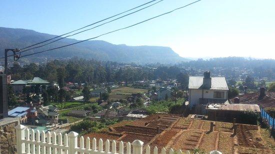 Villa de Roshe : View from deck
