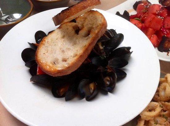 Celadon: Mussels