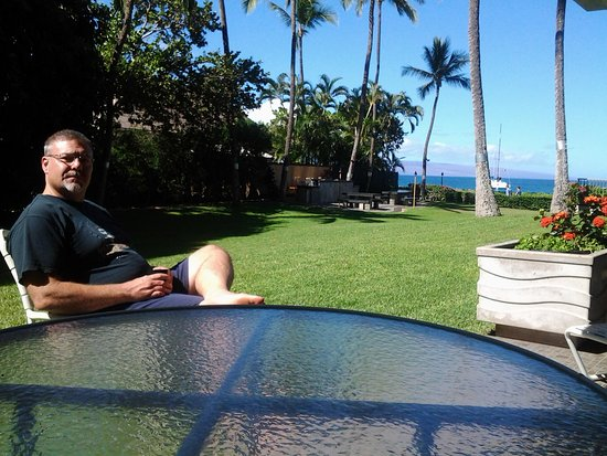 Aston at The Whaler on Kaanapali Beach: view from Lanai
