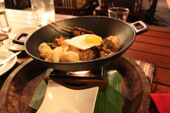 Rama Candidasa Resort & Spa: Dinner