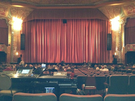 Front Of The Theatre Picture Of Paramount Theatre