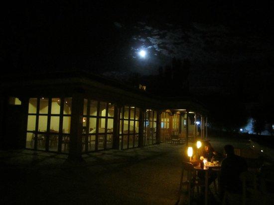 Bon appetit: View of the restaurant