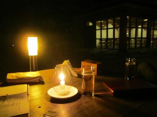 Bon Appetit: Candle lit tables