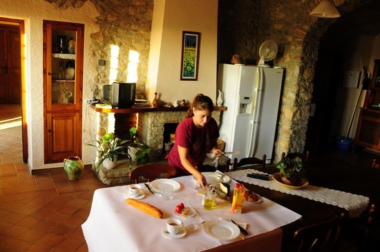 Palau-Saverdera, Spain: dining room