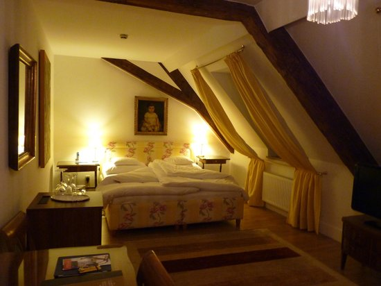 Schlossberg Hotel : Room on top floor