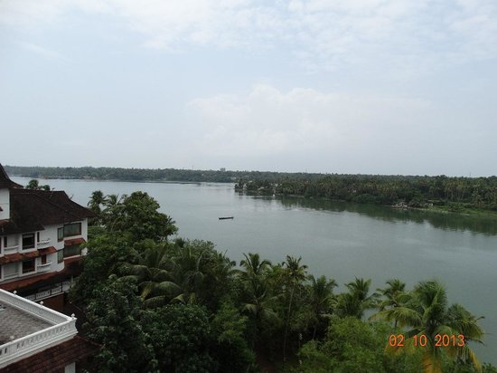 The Raviz Resort and Spa, Ashtamudi: View from Room Balcony