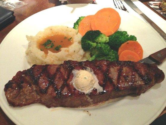 The Hard Rock Cafe Ueno Station: steak
