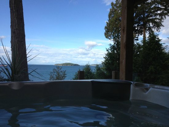 Beachside by the Bay: hot tub & view