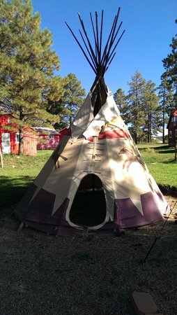 Majestic Dude Ranch: Teepee Village