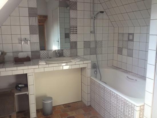 Domaine de Villeray : salle de bain patchwork
