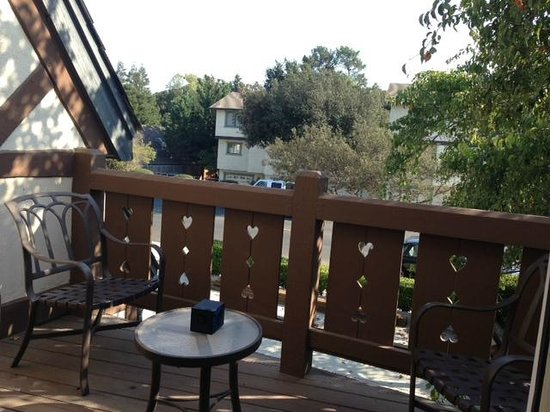 Wine Valley Inn & Cottages: Balcony
