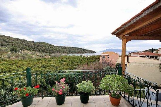 Hotel Marialena: Balcony view