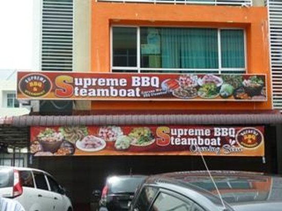 Supreme BBQ Steamboat: BBQ