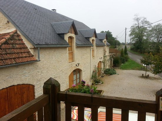 La Grange de Rocamadour : The holliday cottages next to the B&B. Nice as well!
