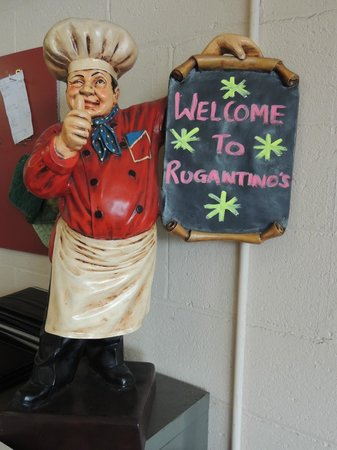 "Rugantino's Restaurant: Mr Chef still lives at ""Ruggers""."