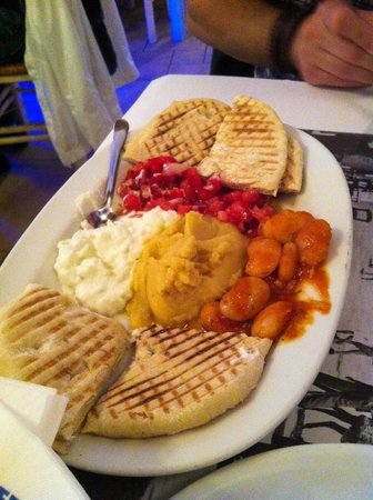 Kounelas Fish Tavern: Greek dips plate