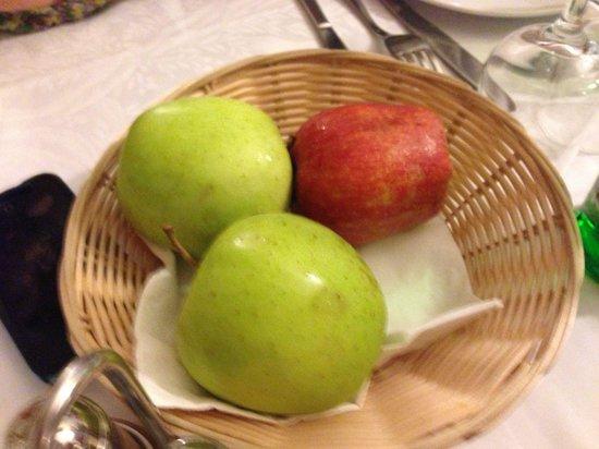 Hotel Raffaello Firenze: Second nights desert :-(