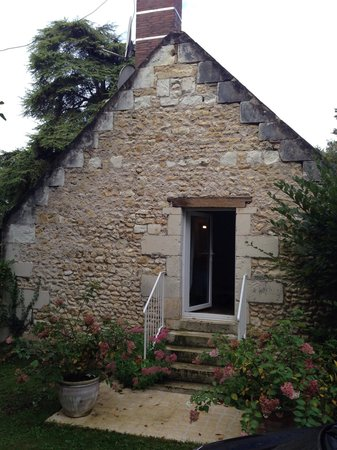 Le Moulin du Mesnil : Our own front door