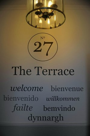 27 The Terrace: The Welcome