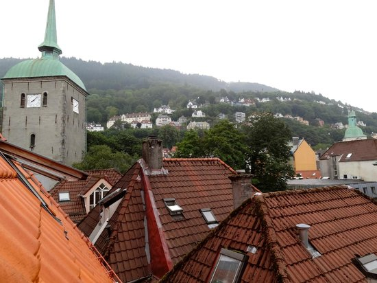 Bergen YMCA Hostel: View from the 4 bed dorm