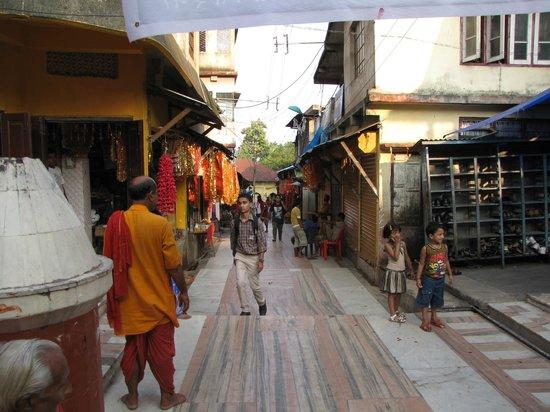 Kamakhya Temple : Steps to the temple