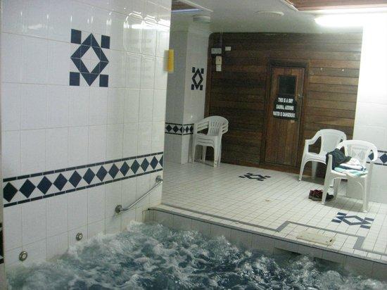 Berida Hotel: Dry Sauna and Hot Spa area