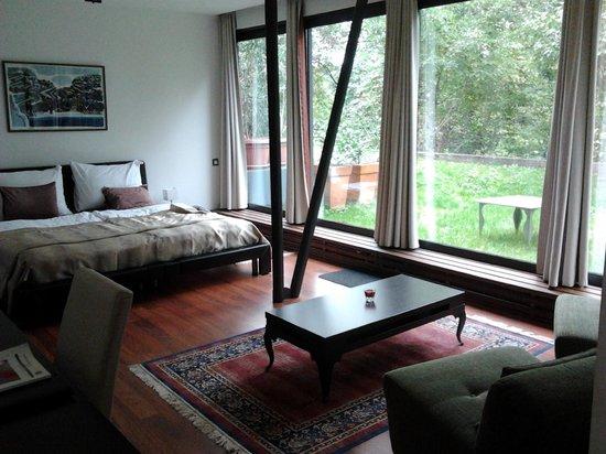 Hotel President Pantovcak: room view