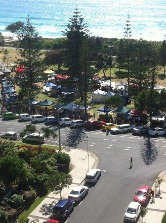 Pacific Resort Broadbeach : view from balcony