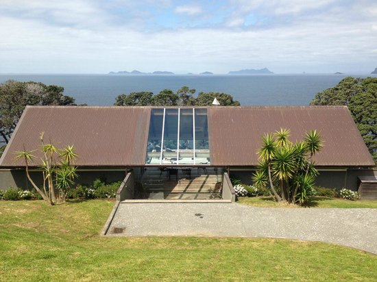 Ara Roa Accommodation - Whangarei Heads: The Glasshouse when arriving