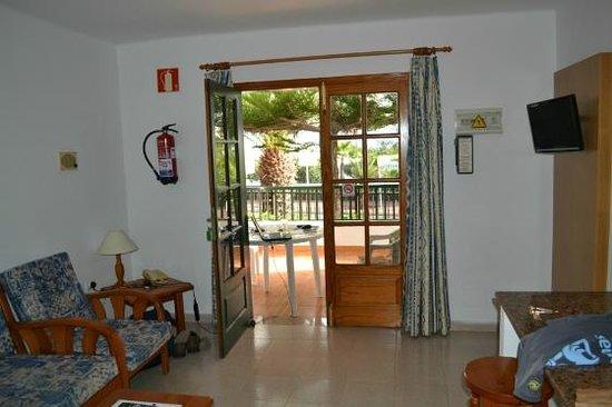 Apartamentos Villa Canaima: Looking towards the Patio