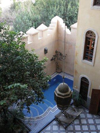 Riad Layalina Fez: le patio